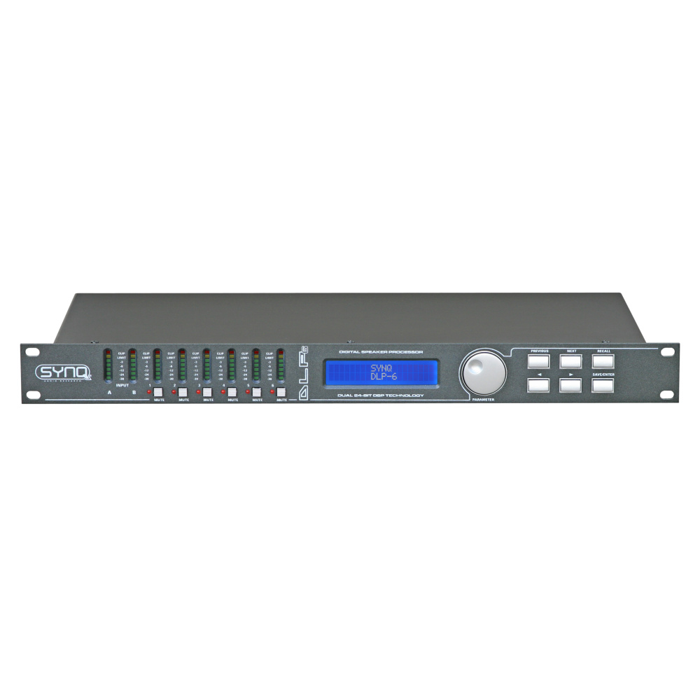 Digital Loudspeaker Management Processor DLP-6